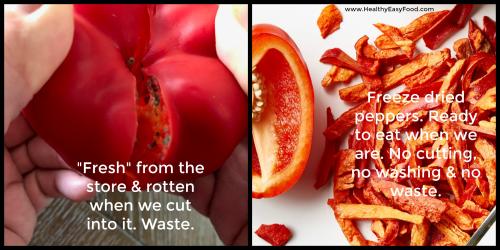 Tale of 2 peppers www.HealthyEasyFood.com