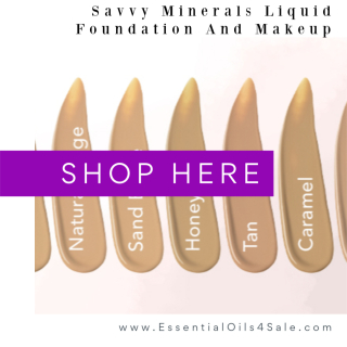 Shop for Savvy Minerals Makeup www.EssentialOils4Sale.com