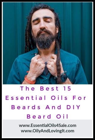 The Best 15 Essential Oils For Beards And DIY Beard Oil Recipe - www.EssentialOils4Sale.com