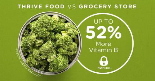 Thrive Life Broccoli www.HealthyEasyFood.com