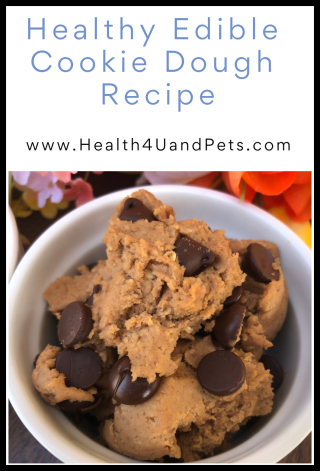 Healthy Cookie Dough Recipe - www.Health4UandPets.com