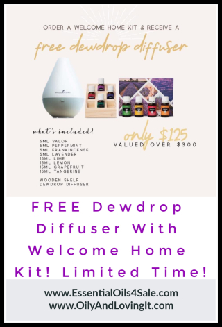 Welcome Home Kit with FREE Dewdrop Diffuser - www.EssentialOils4Sale.com