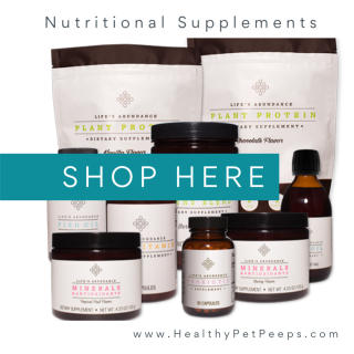 Shop for Life's Abundance Nutritional Supplements www.HealthyPetPeeps.com