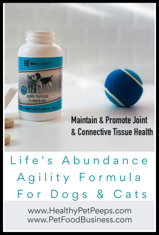 Life's Abundance Agility Formula for Dogs And Cats - www.HealthyPetPeeps.com