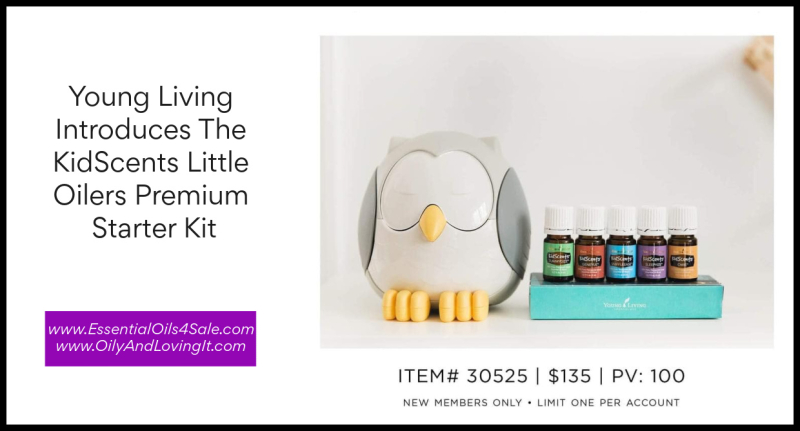 Young Living Introduces The KidScents Little Oilers Premium Starter Kit www.EssentialOils4Sale.com