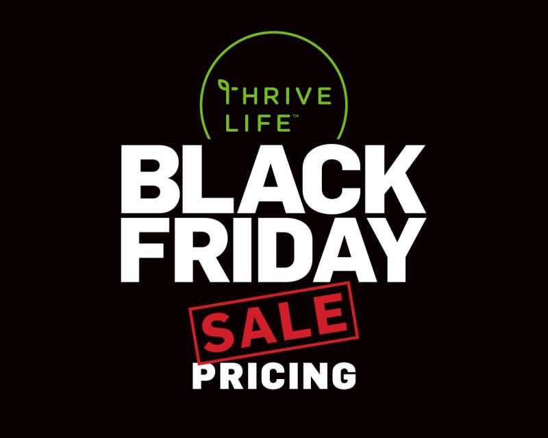 Thrive Life Black Friday Sale Pricing www.HealthyEasyFood.com