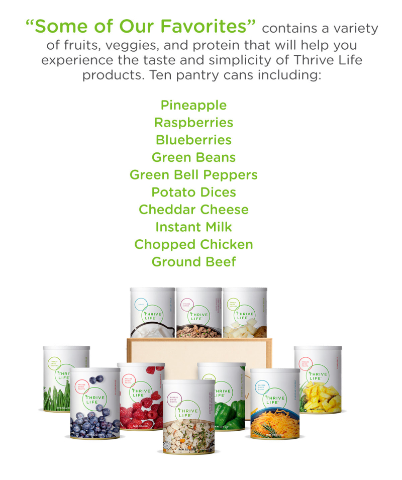 Thrive Cyber Monday Favorites Pack www.HealthyEasyFood.com