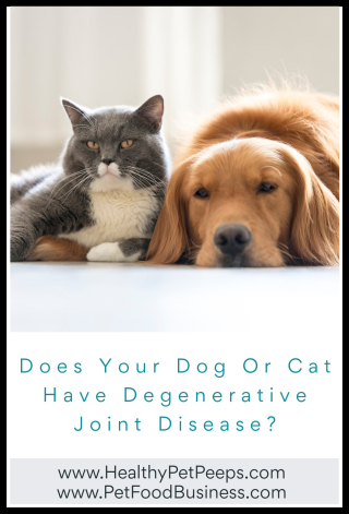 Does Your Dog Or Cat Have Degenerative Joint Disease - www.HealthyPetPeeps.com