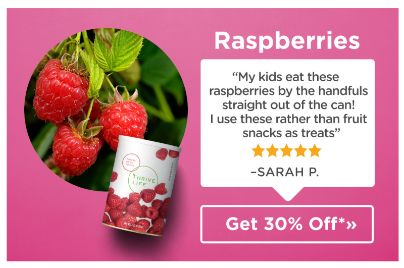 February Raspberries Special www.HealthyEasyFood.com