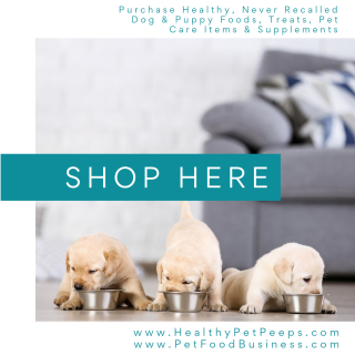 Purchase Healthy Products For Your Dog www.HealthyPetPeeps.com