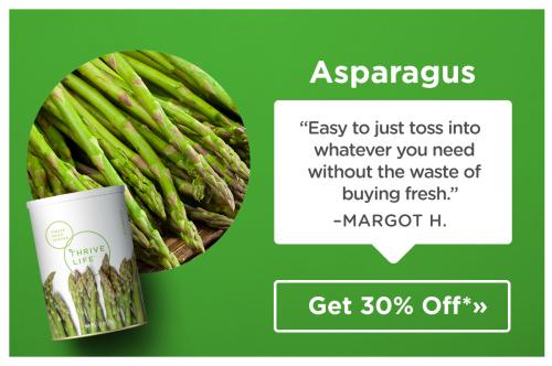 Thrive asparagus