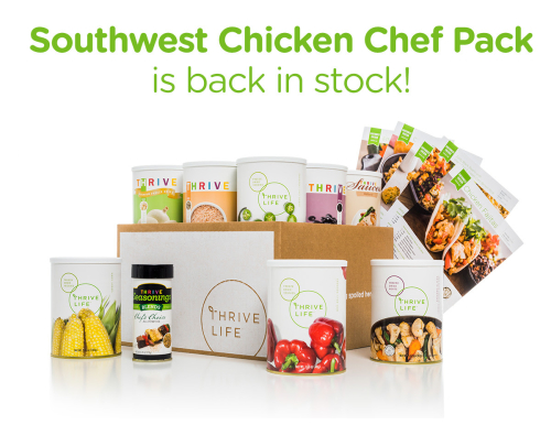 Southwest Chicken Chef Pack Is Back In Stock www.HealthyEasyFood.com