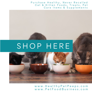 Purchase Healthy Products For Your Cat www.HealthyPetPeeps.com
