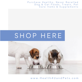 Purchase Healthy Products For Your Dog And Cat www.Health4UandPets.com