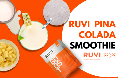 Pina Colada Smoothie with Ruvi Boost