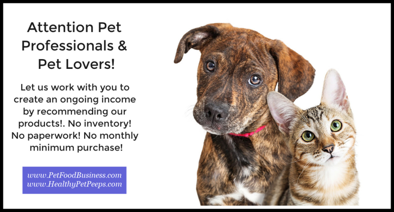 Calling All Pet Professionals & Pet Lovers - Start Your Own Life's Abundance Pet Products Business From Home www.PetFoodBusiness.com