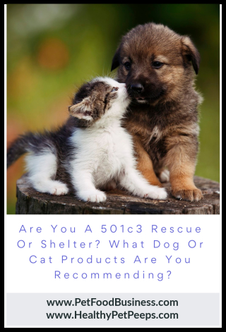 Rescues and Shelters Create An Ongoing Income Recommending Life's Abundance Pet Products www.PetFoodBusiness.com