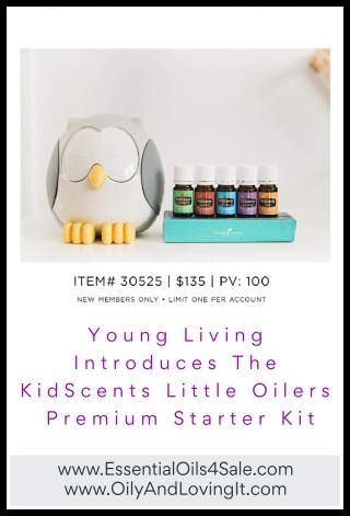 Young Living Introduces The KidScents Little Oilers Premium Starter Kit - www.EssentialOils4Sale.com