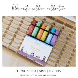 KidScents Roller Collection www.EssentialOils4Sale.com