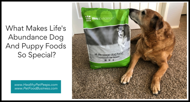 What Makes Life's Abundance Dog And Puppy Foods So Special www.HealthyPetPeeps.com