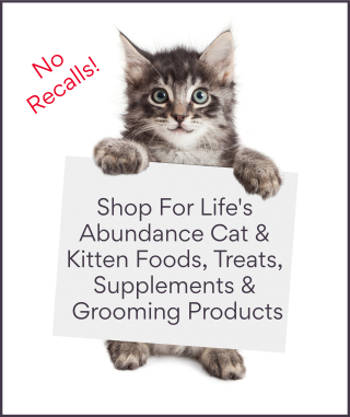 Shop for Life's Abundance cat and  kitten products www.NaturalCatFoodStore.com