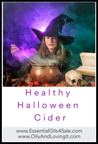 Healthy Halloween Cider - www.EssentialOils4Sale.com