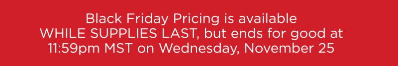 Black Friday Pricing www.HealthyEasyFood.com
