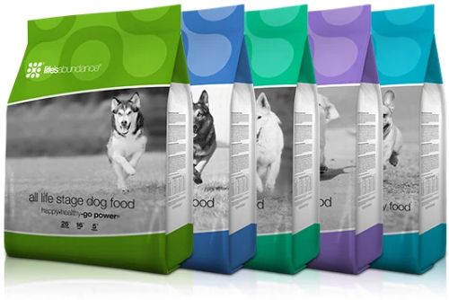 Life's Abundance Dog and Puppy Foods www.HealthyPetPeeps.com