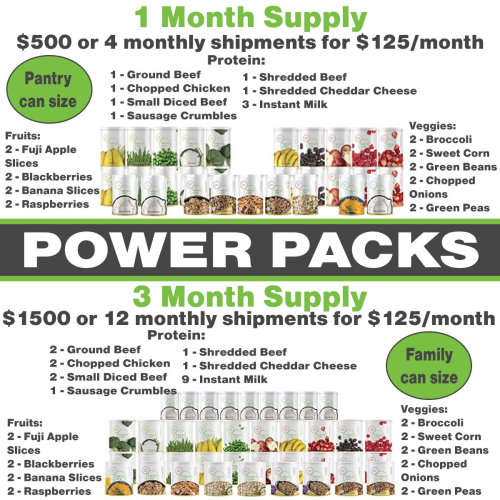 Thrive Life Power Packs www.HealthyEasyFood.com