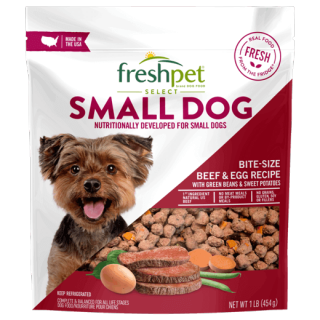 Freshpet Select Small Dog Bite Size Beef & Egg Recipe Dog Food Recalled www.HealthyPetPeeps.com