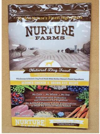 Evolve dog food recall