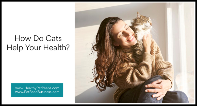 How Do Cats Help Your Health www.HealthyPetPeeps.com